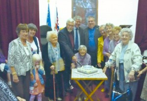 60th Anniversary Cake cutting