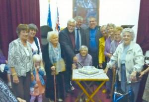 60th Anniversary Cake cutting