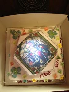 St. Patrick's 60th anniversary Cake