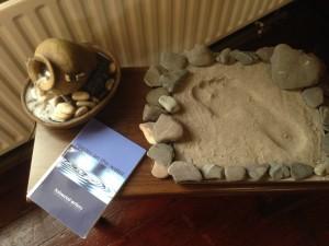 St. Patrick's 24/7 Prayer Space - footprints & living water