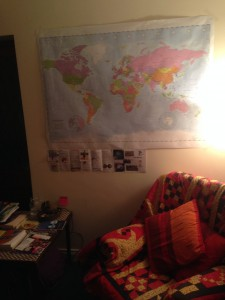 Christ Church 24/7 prayer space - praying for the world