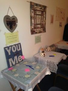 Christ Church 24/7 Prayer Space - praying for our welcoming/hospitality and for ourselves