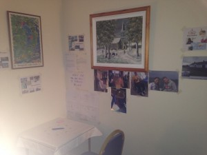 Christ Church 24/7 Prayer Space - community, church, rector & his family