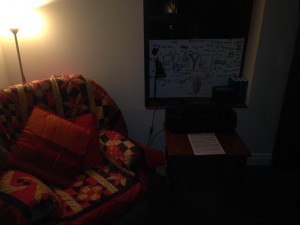 Christ Church 24/7 Prayer Space - sit, read or listen & reflect
