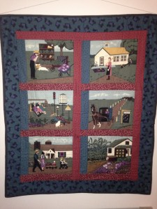 Christ Church 24/7 Prayer space - Amish tapestry